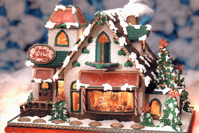 French Bakery - Gingerbread House