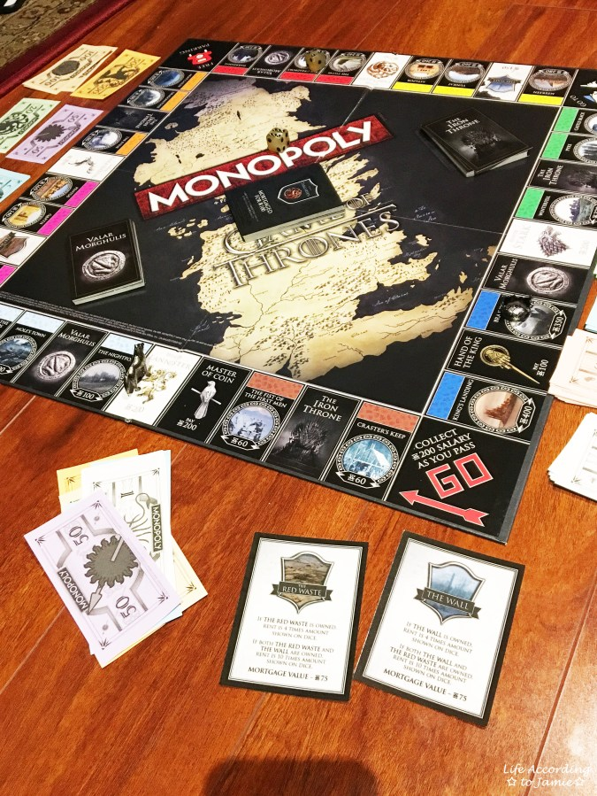 Game of Thrones Monopoly 6