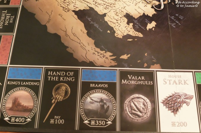 Game of Thrones Monopoly - Board 1