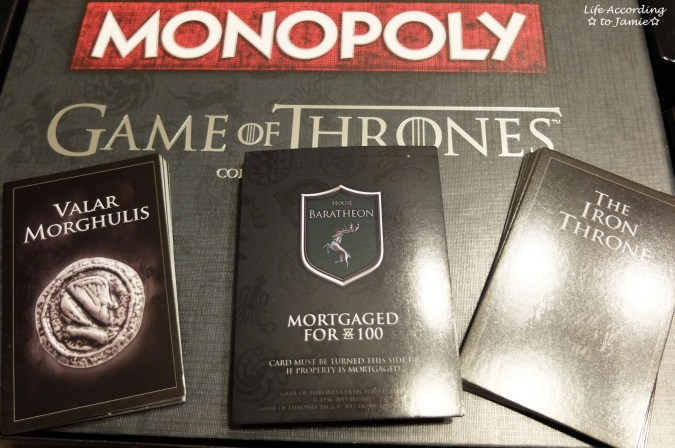 Game of Thrones Monopoly - Playing Cards