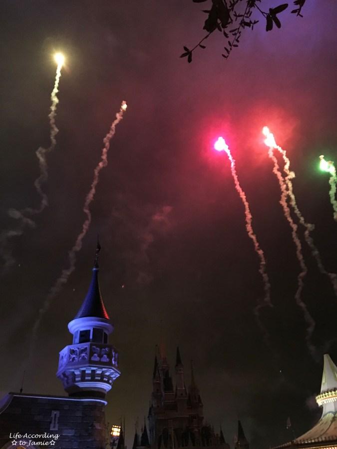Magic Kingdom - Fireworks 3