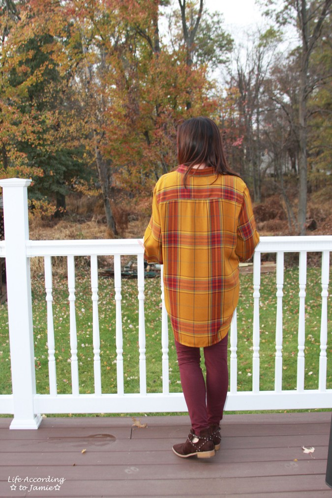 Mustard Plaid Tunic 7