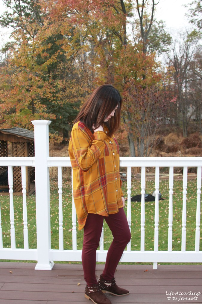 Mustard Plaid Tunic 9