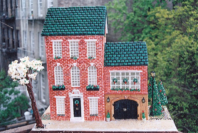 New York Townhouse - Gingerbread House