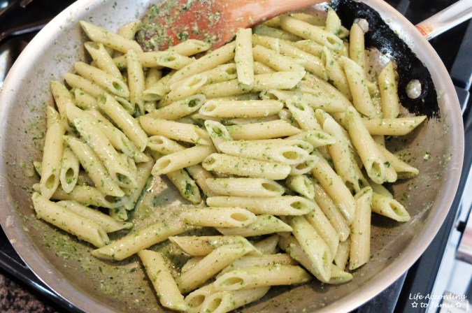 Penne with Pesto