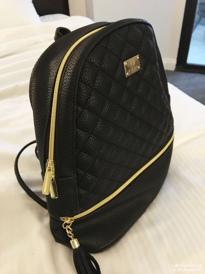 Quilted Mini Backpack 1