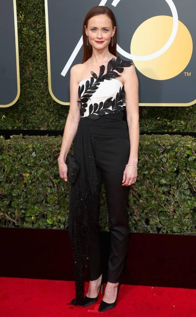 Alexis Bledel - Golden Globes