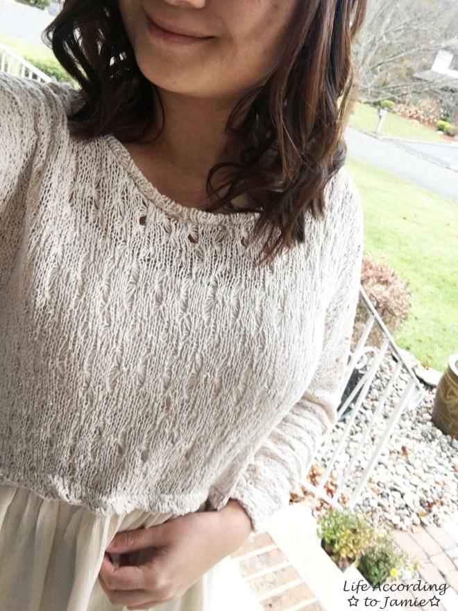 Crochet Top Dress 10