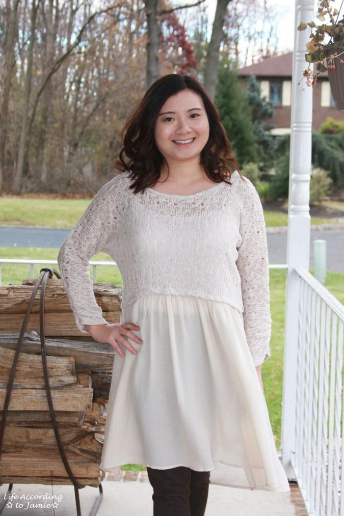 Crochet Top Dress 7