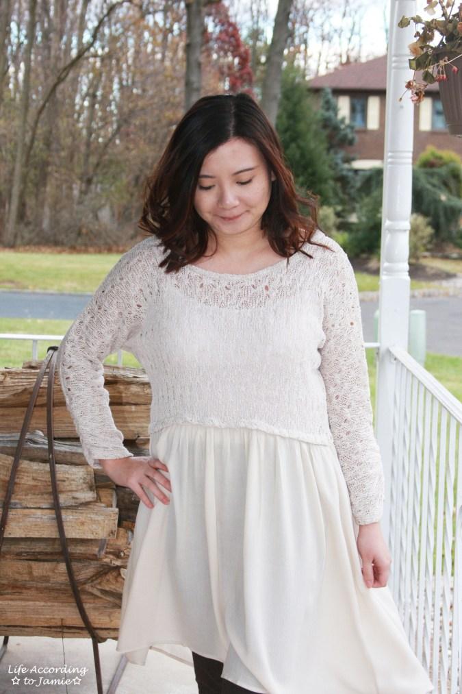 Crochet Top Dress 8