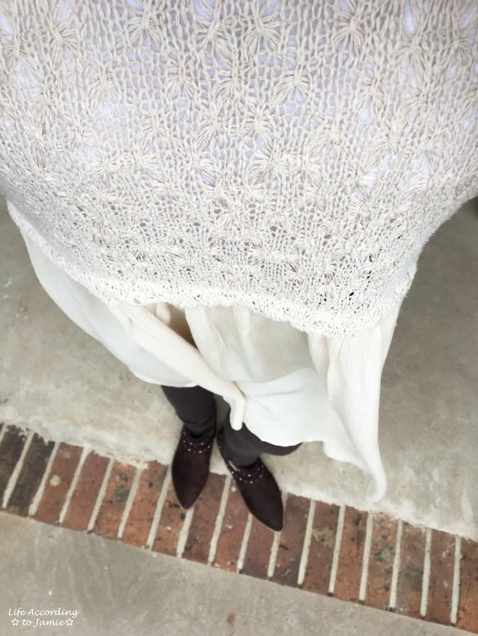 Crochet Top Dress 9