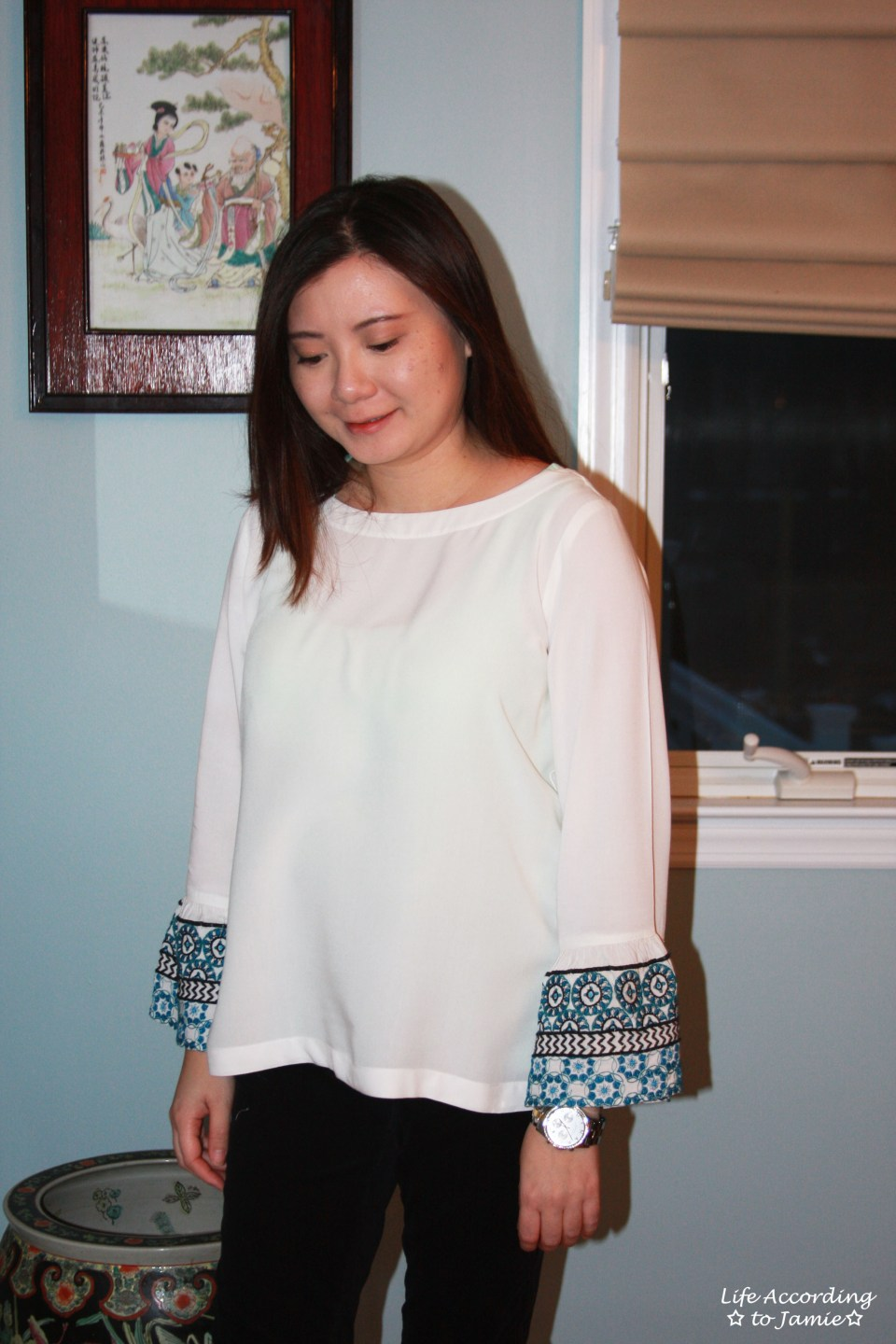 Embroidered Bell Sleeves 4