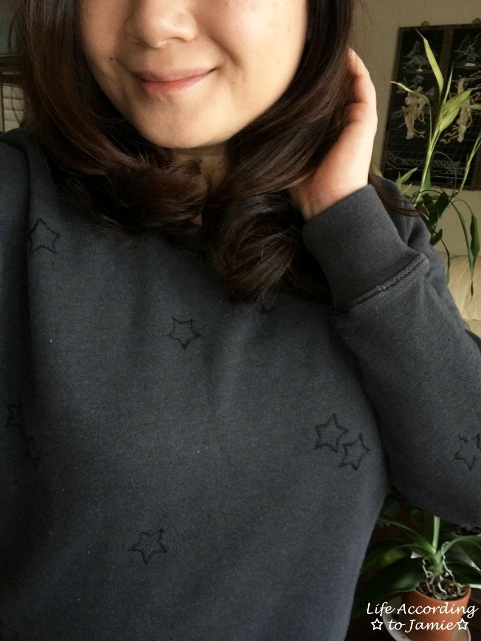 Embroidered Star Sweatshirt 4