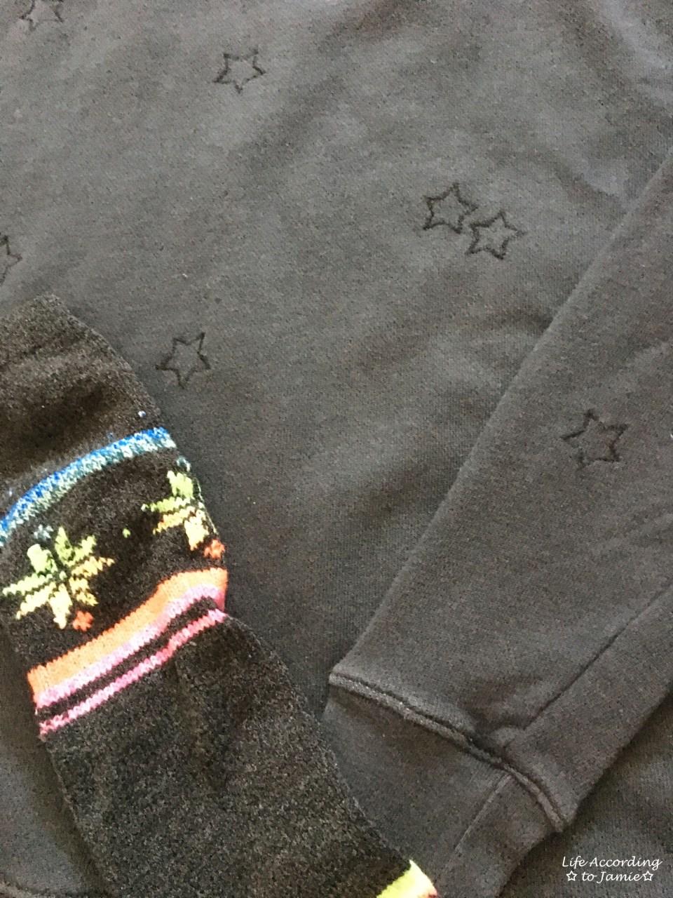 Embroidered Star Sweatshirt