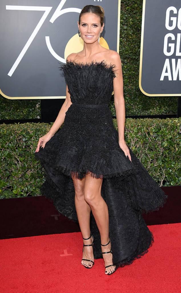 Heidi Klum - Golden Globes
