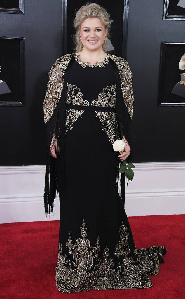Kelly Clarkson Grammy's 2018