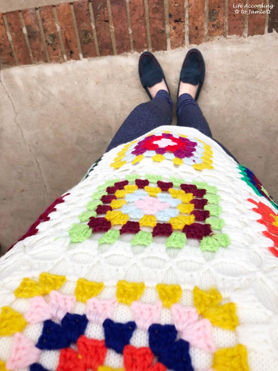 Boho Charm Crochet Knit Sweater 1