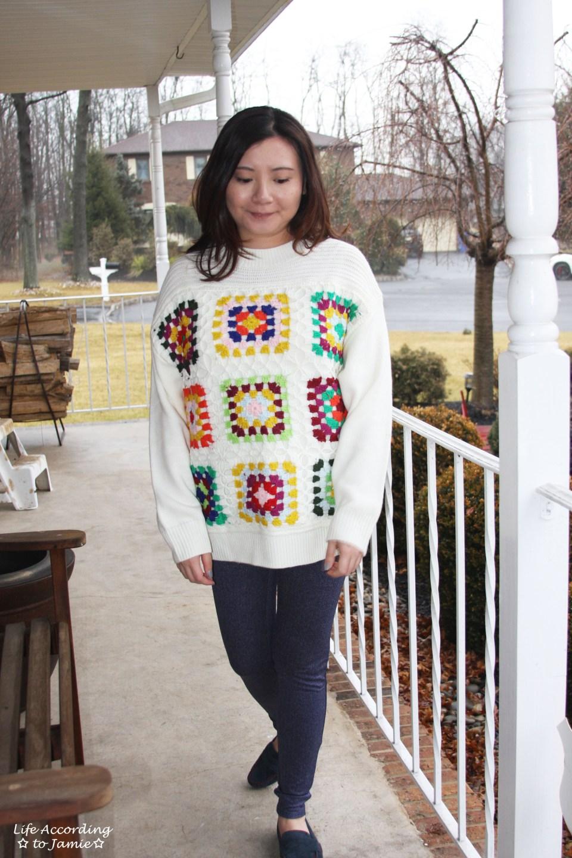 Boho Charm Crochet Knit Sweater 13