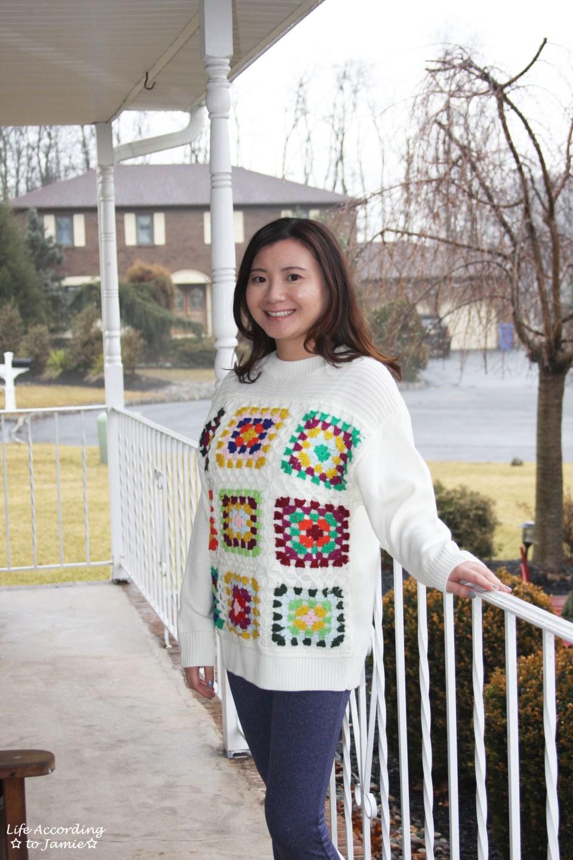 Boho Charm Crochet Knit Sweater 8