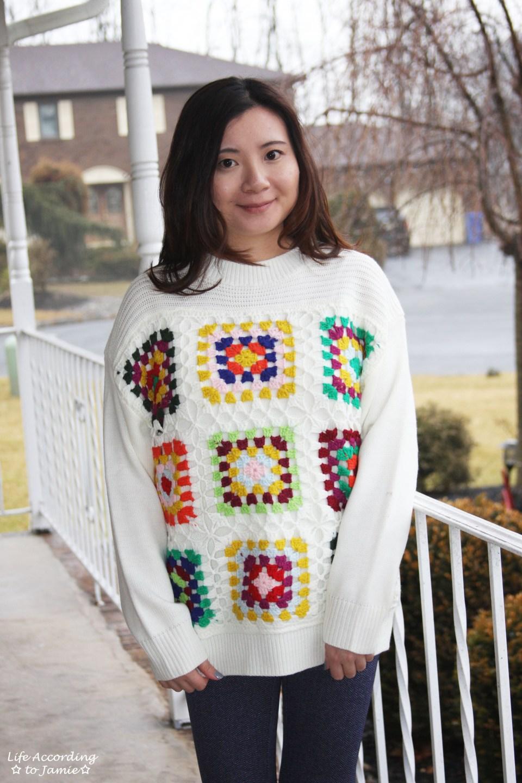 Boho Charm Crochet Knit Sweater 9