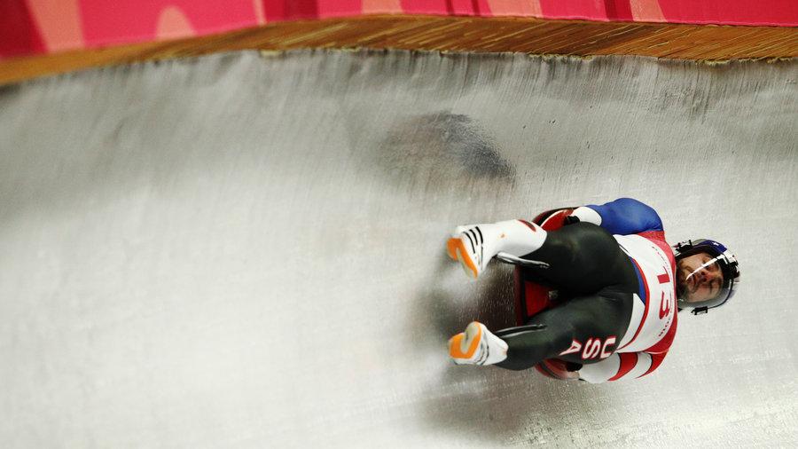 Chris Mazdzer - Olympics luge