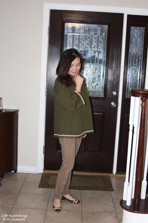 Green Pompom Fringe 9