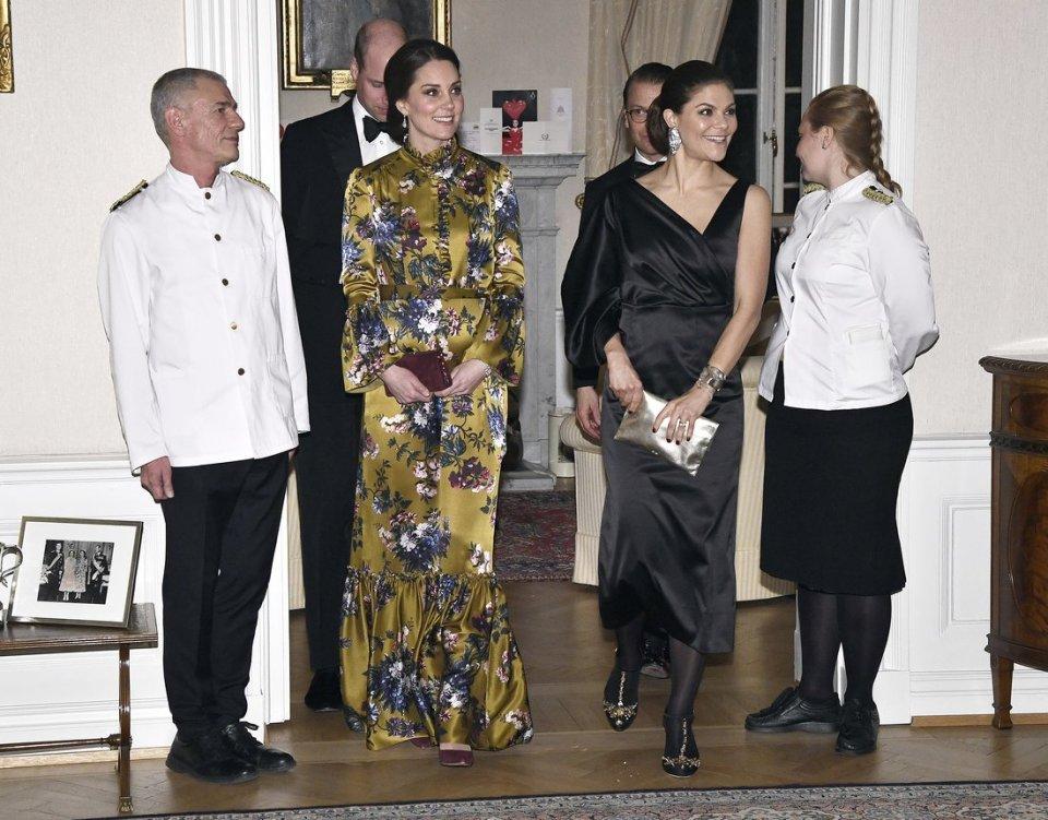 Sweden: Dinner at the British Ambassador's Residence