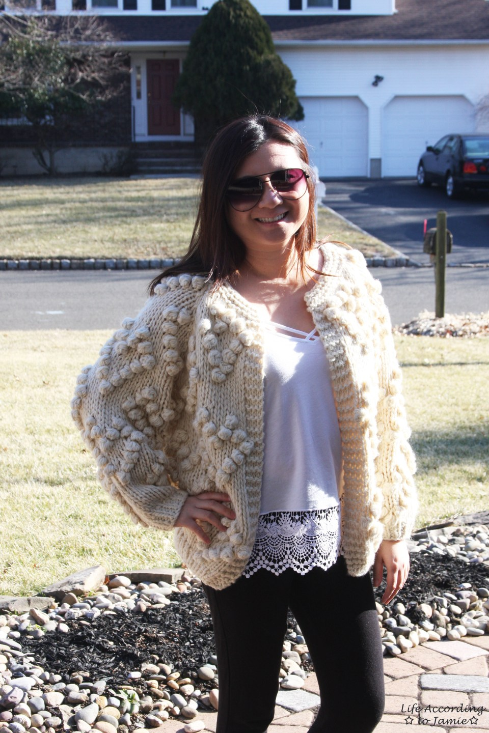 Knit Your Love Pompom Cardigan 8