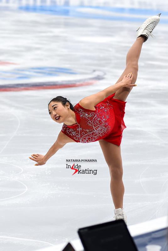 Mirai Nagasu - Winter Olympics Team Event