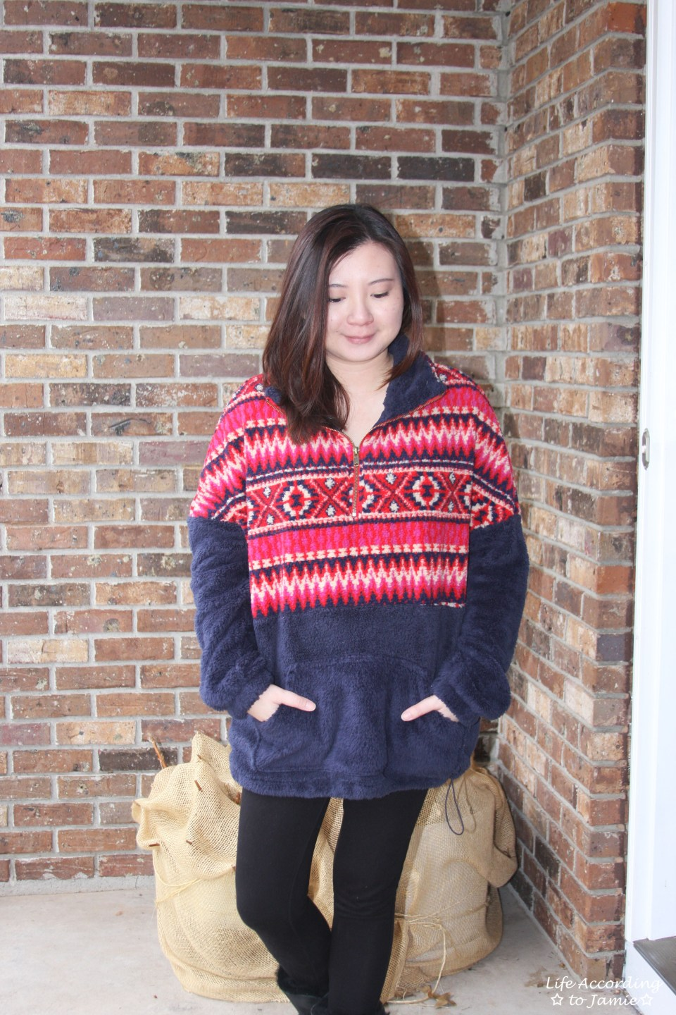 Navy & Red Pullover 11