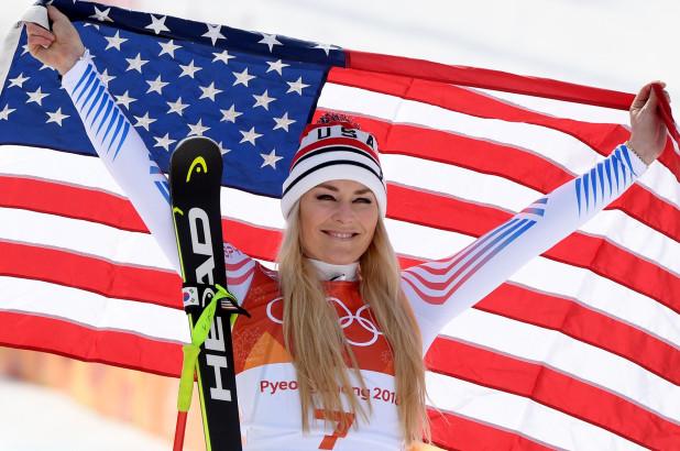 lindsey vonn downhill bronze