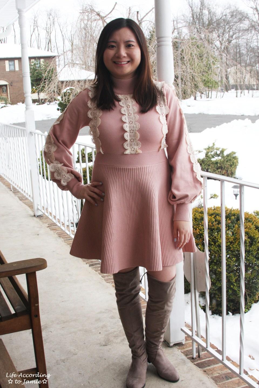 Crochet A-Line Dress 12