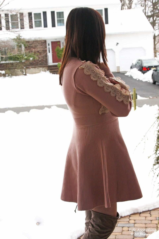 Crochet A-Line Dress 14