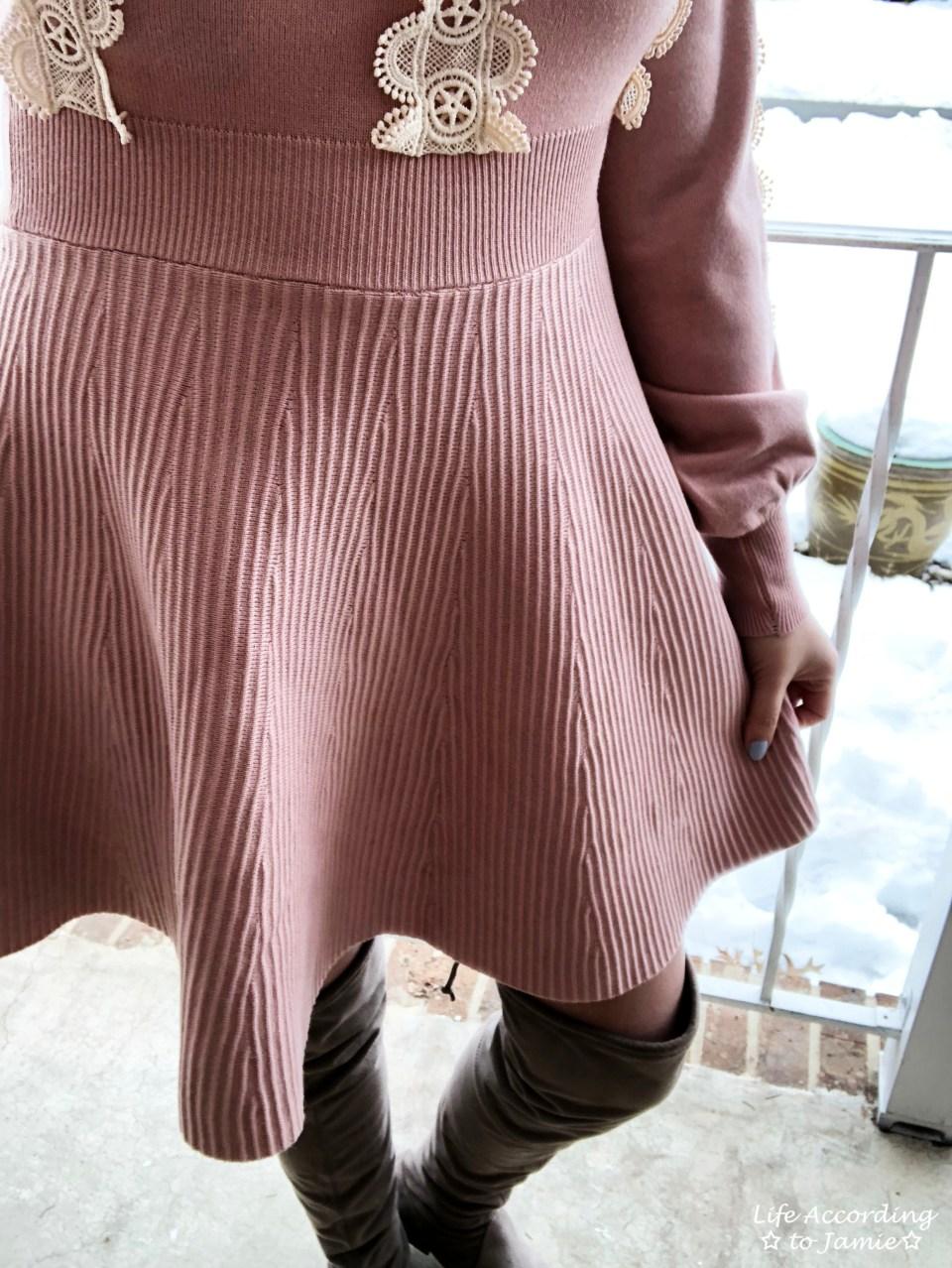 Crochet A-Line Dress 3