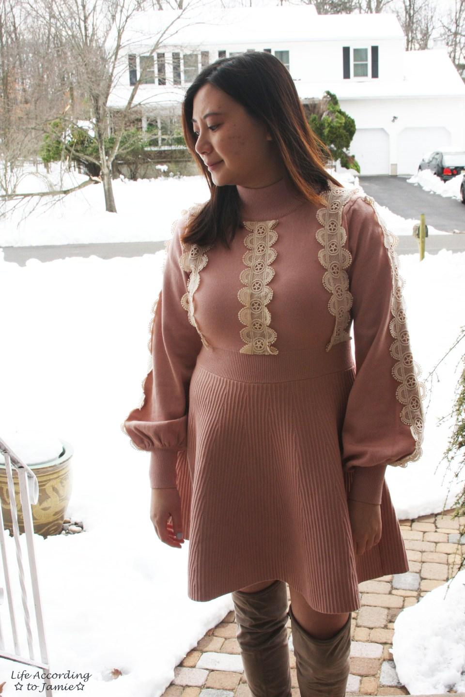 Crochet A-Line Dress 6