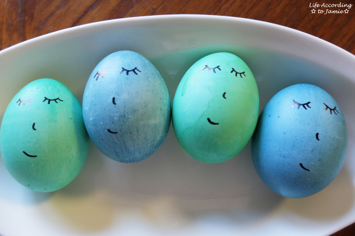 Easter Eggs - Sleeping Faces