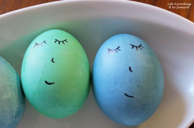 Easter Eggs - Sleeping Faces
