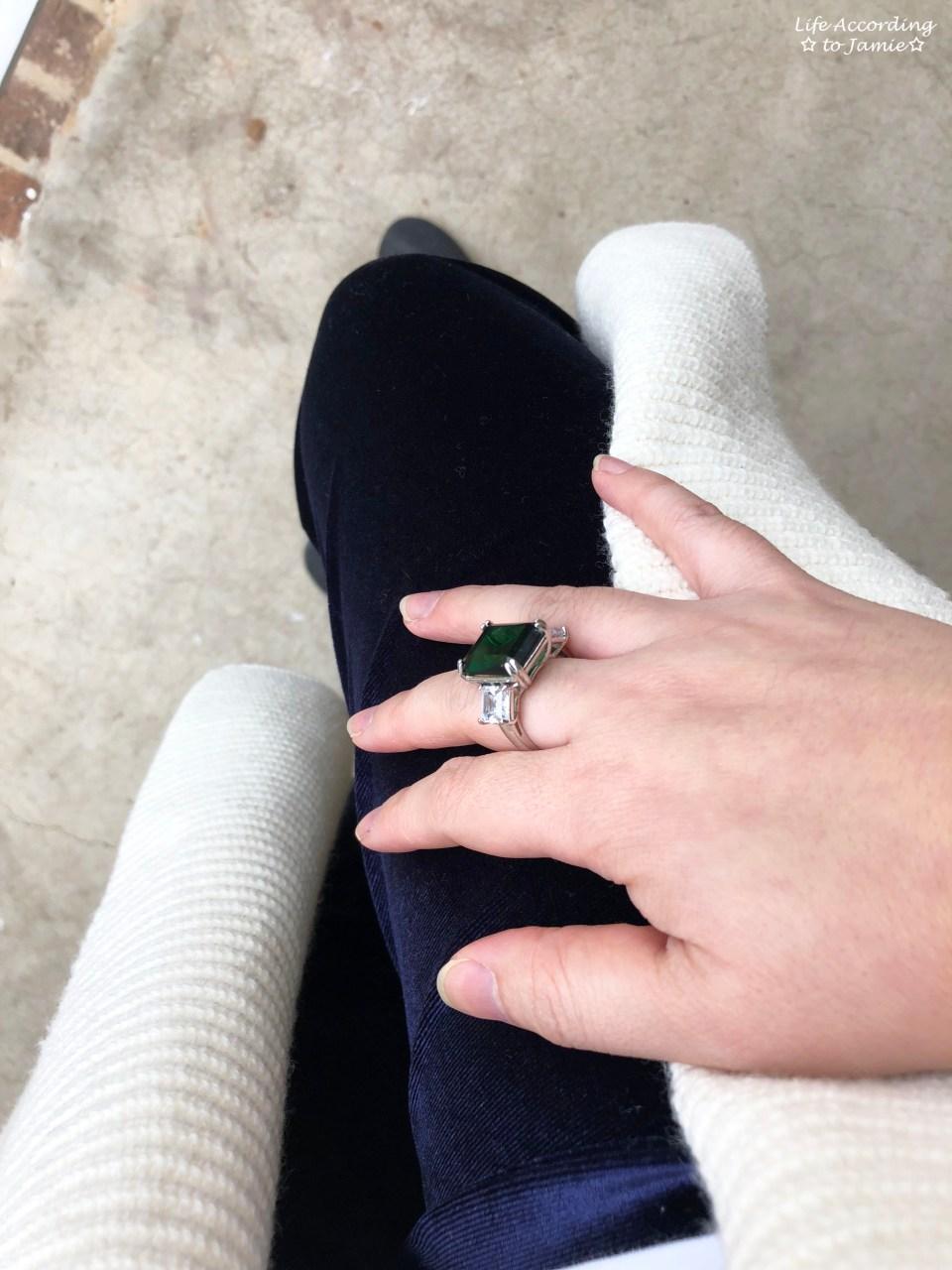 Emerald Statement Ring