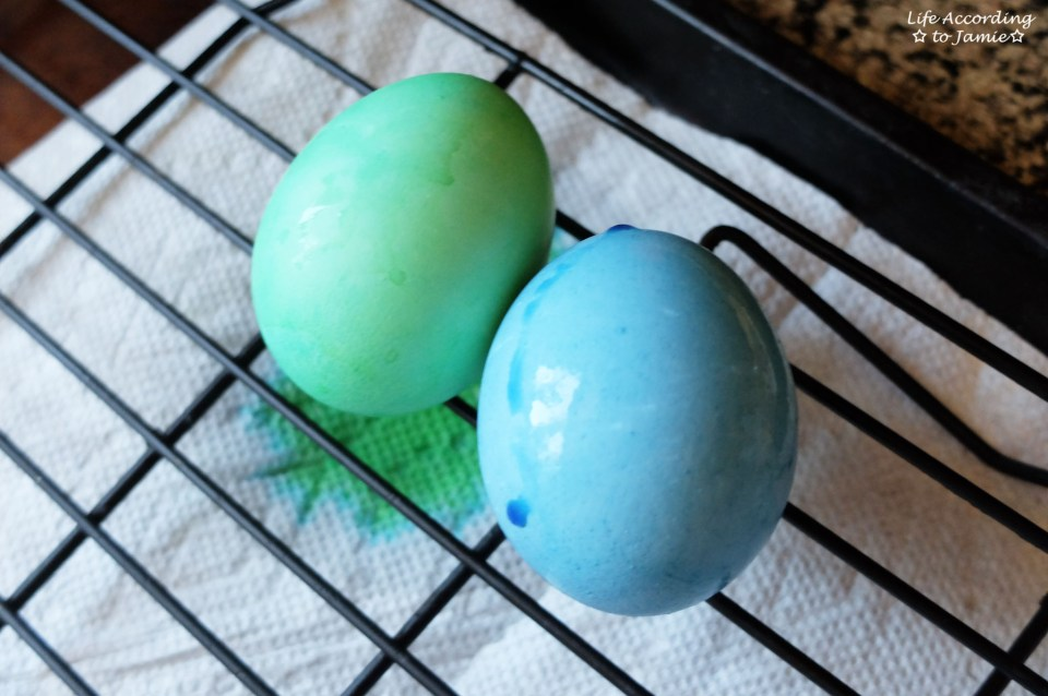 Green & Blue Easter Eggs