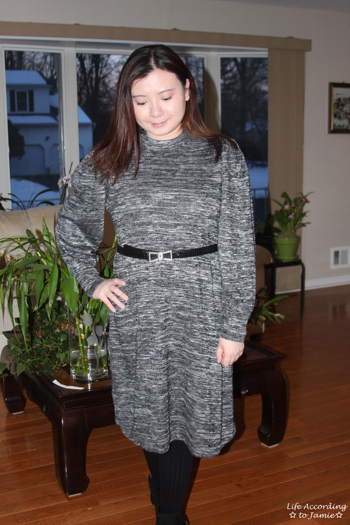 c8bb90ba6de5 Marled Swing Dress + Bow Belt – Life According to Jamie