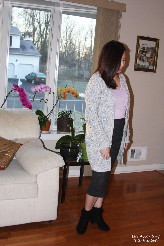 Plush Jersey Pencil Skirt 6
