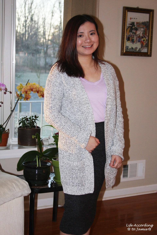 Plush Jersey Pencil Skirt 7