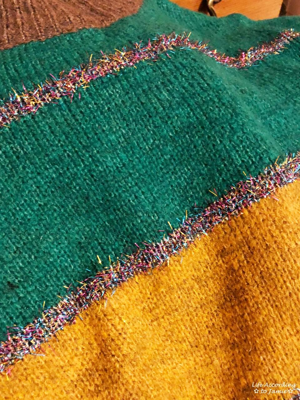 Color Block Tinsel Stripe 14
