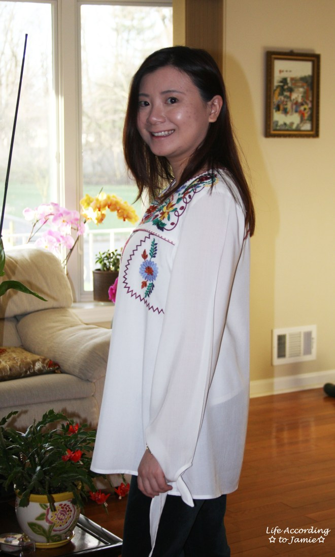 Embroidered Boho Top 8