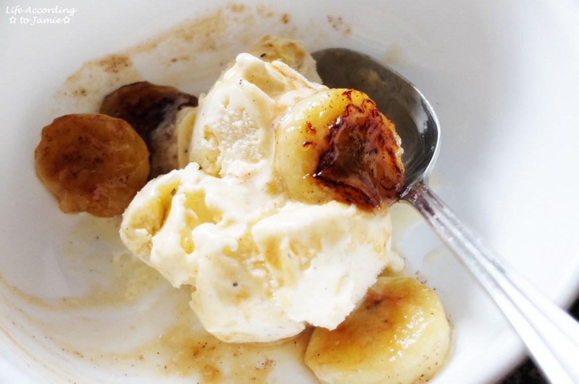 Fried Honey Bananas