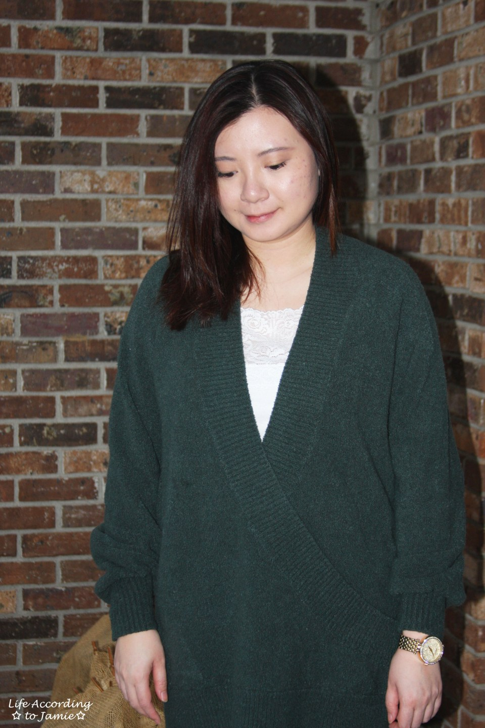 Green Wrap Front Tunic 5