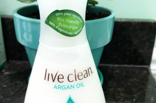 Live Clean Argan Oil Body Lotion