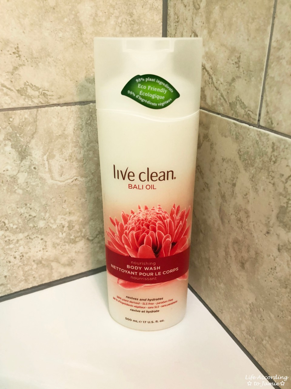 Live Clean - Bali Oil Body Wash