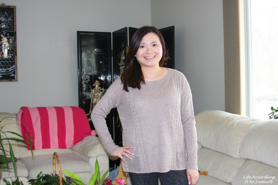 Mixed Stitch Cable Sweater 9