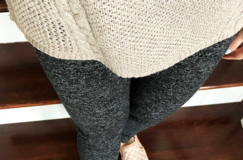 Mixed Stitch Cable Sweater